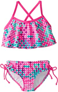 88f394f3a3383 Amazon.com  INCIPHER Two Pieces Bikini Swimsuits for Kids  Clothing