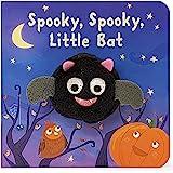 Spooky, Spooky, Little Bat Finger Puppet Halloween Board Book Ages 0-4 (Finger Puppet Board Book)