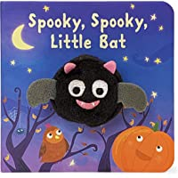 Spooky, Spooky Little Bat (Finger Puppet Books) (Finger Puppet Board Book)