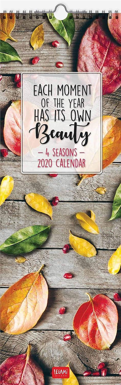 Calendario 2020 ogni momento ha la propria bellezza. 4 stagioni