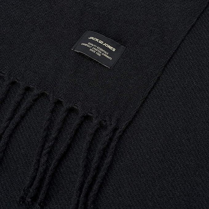 Jack   Jones NOS Jacsolid Woven Scarf Noos, Echarpe Homme, Bleu Navy  Blazer, Taille Unique  Amazon.fr  Vêtements et accessoires f03dee33b99