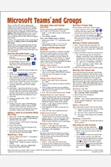Microsoft Teams and Groups for Office 365 Quick Reference Guide (Cheat Sheet of Instructions, Tips & Shortcuts - Laminated Card) Pamphlet