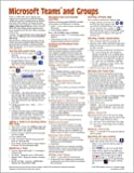 Microsoft Teams and Groups for Office 365 Quick Reference Guide (Cheat Sheet of Instructions, Tips & Shortcuts - Laminated Card)