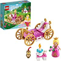 LEGO Disney Princess 43173 Aurora's Royal Carriage Building Kit (62 Pieces)