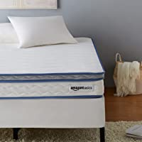 AmazonBasics Hybrid Mattress - Memory Foam With Strong Innerspring Support - Medium Feel - CertiPUR-US - 8-Inch, Twin
