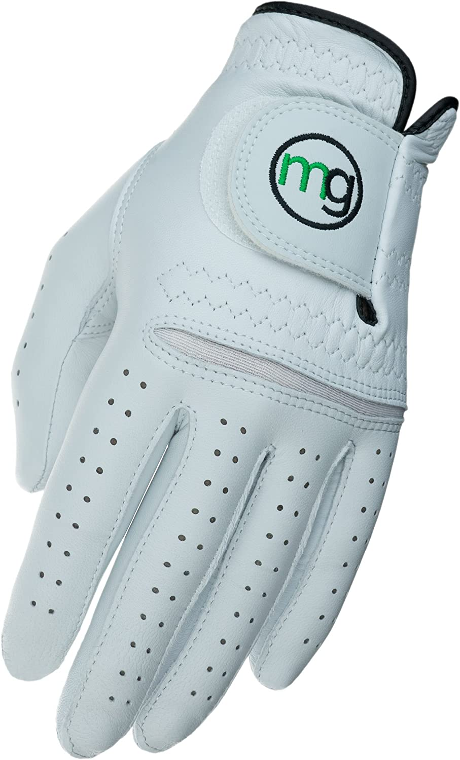 MG Golf Glove Mens DynaGrip Elite All-Cabretta Leather (Cadet Sizes)