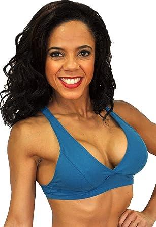 098c829eedb Lino Fitness Women Sports Wear Racerback Bra (X-Small/Small, Blue maroto