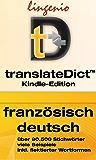 translateDict™: Lingenio Wörterbuch Französisch-Deutsch: Direktes Nachschlagen von Wörtern aus Ihrem Amazon Kindle heraus