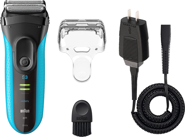 Braun Series 3 3040 mojado y seco Foil Shaver para los hombres ...