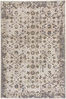 """product image for Capel Taylor-Keshan Lt. Sand 6' 7"""" x 9' 10"""" Rectangle Machine Woven Rug"""