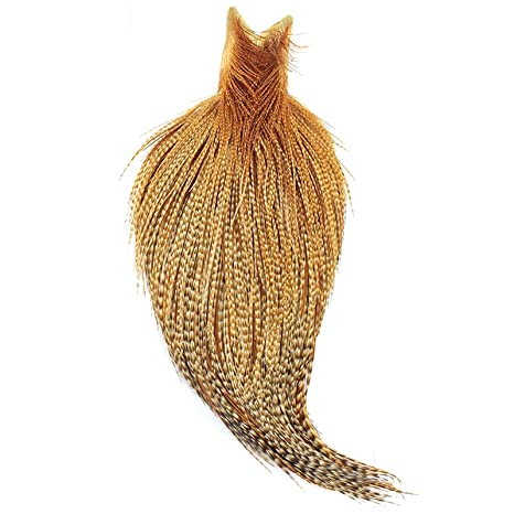 Amazon com : Whiting Farms High & Dry Hackle 1/2 Cape White