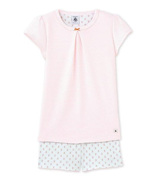 Petit Bateau 22583, Conjuntos de Pijama para Niñas, (Venus/Ecume),
