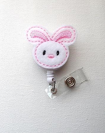 Easter bunny badge reel