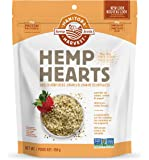 Manitoba Harvest Hemp Hearts Raw Shelled Hemp Seeds, Natural, 454g Bag - Packaging May Vary - Imported from Canada