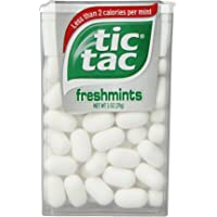Tic Tac Freshmint, 1-Ounce Packages (Pack of 24) Tic Tac Freshmint, 1-Ounce Packages (Pack of 24) 1 count 0.5 kilograms