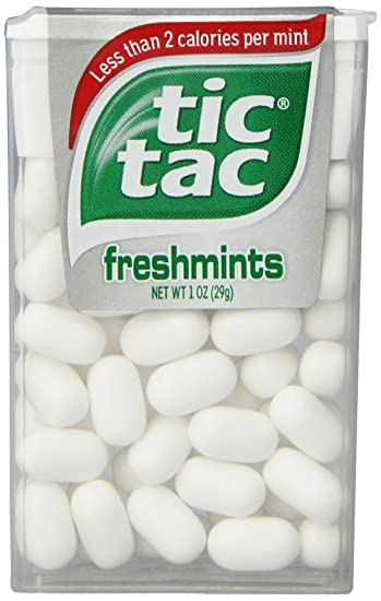 Amazon.com : Tic Tac Freshmint, 1-Ounce Packages (Pack of 24 ...