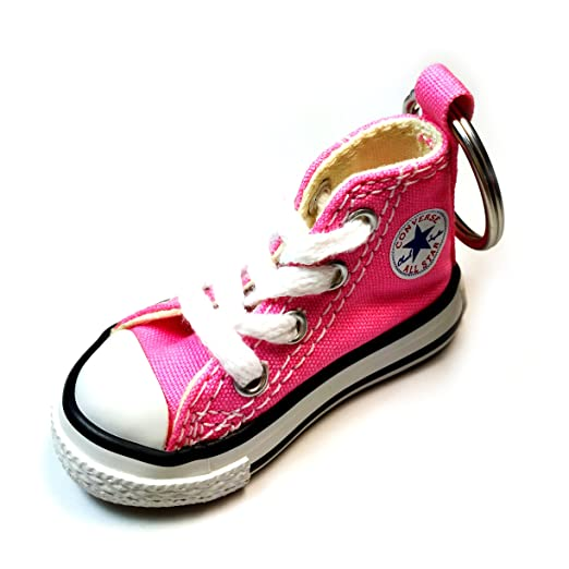 96729963222c7c Converse Key Chain All Star Chuck Taylor Sneaker Keychain Authentic (Pink)
