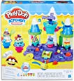 Play-Doh - Kitchen Creations - Ice Cream Castle inc 6 Tubs of Dough & Accessories - Creative Kids Toys - Ages 3+