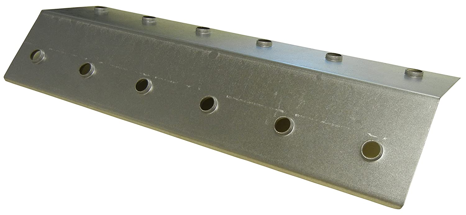 Music City Metals 95581 Stainless Steel Heat Plate for Blooma and Montana Brand Gas Grills - Silver