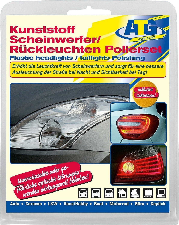 Atg Atg073 Kunststoff Scheinwerfer Polierset Auto