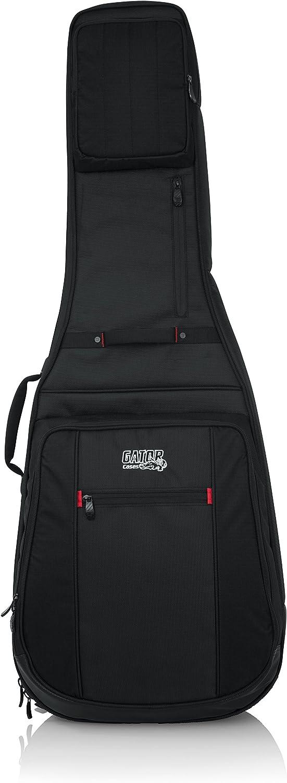 Gator Cases Pro-Go Ultimate Guitar Gig Bag; Fits 335 Semi Hollow or Flying V Style Guitars (G-PG-335V)