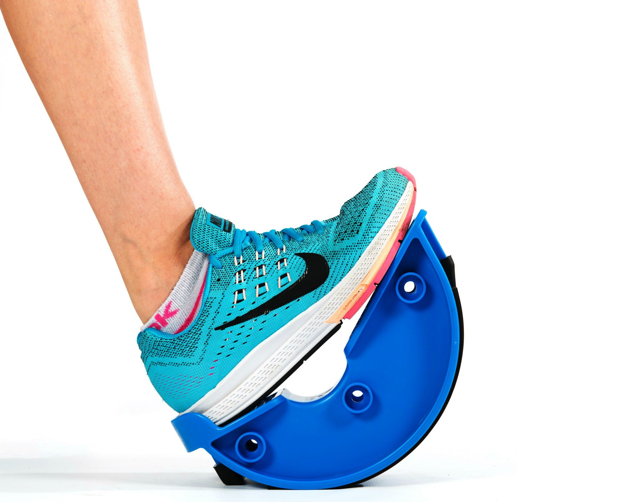 Foot Rocker. Durable Calf Stretcher Device for Achillies Tendonitis. Improve Plantar Fasciitis, Calf Flexibility, Ankle Mobility. Feet and Shin Splint Relief. Great for Physical Therapy, Athletes, Phy by Natural Chemistree (Image #4)