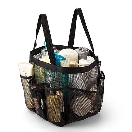 Amazon.com: iPEGTOP Portable Mesh Shower Caddy, Quick Dry Shower ...
