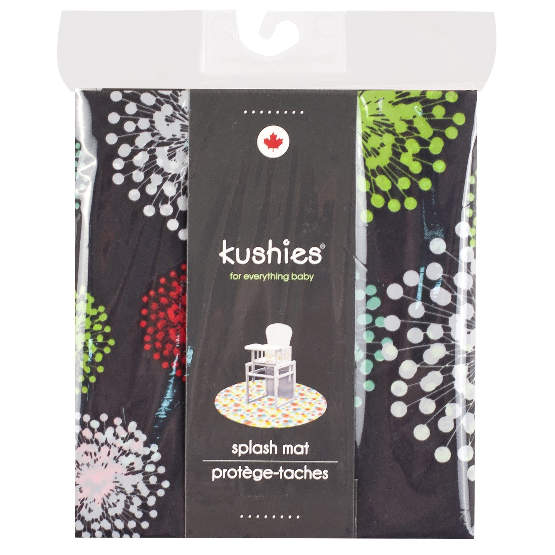 amazon com kushies baby splash mat mod black discontinued by