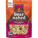 Bear Naked Triple Berry Fit Granola - Non-GMO, Kosher, Vegan - 12 Oz (Pack of 6)