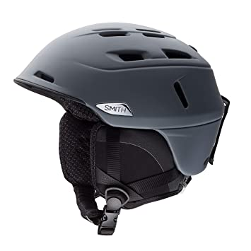 Smith Helmet Camber - Casco de esquí, Color Gris, Talla 51-55 cm
