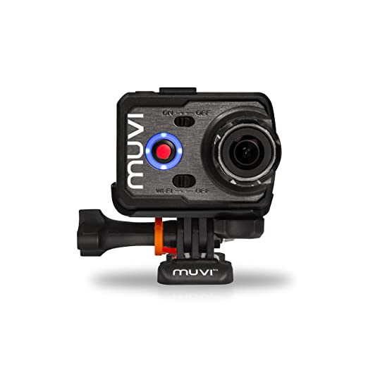 Veho Muvi K-2 Wi-Fi Action Camera (Black) Trail & Game Cameras at amazon