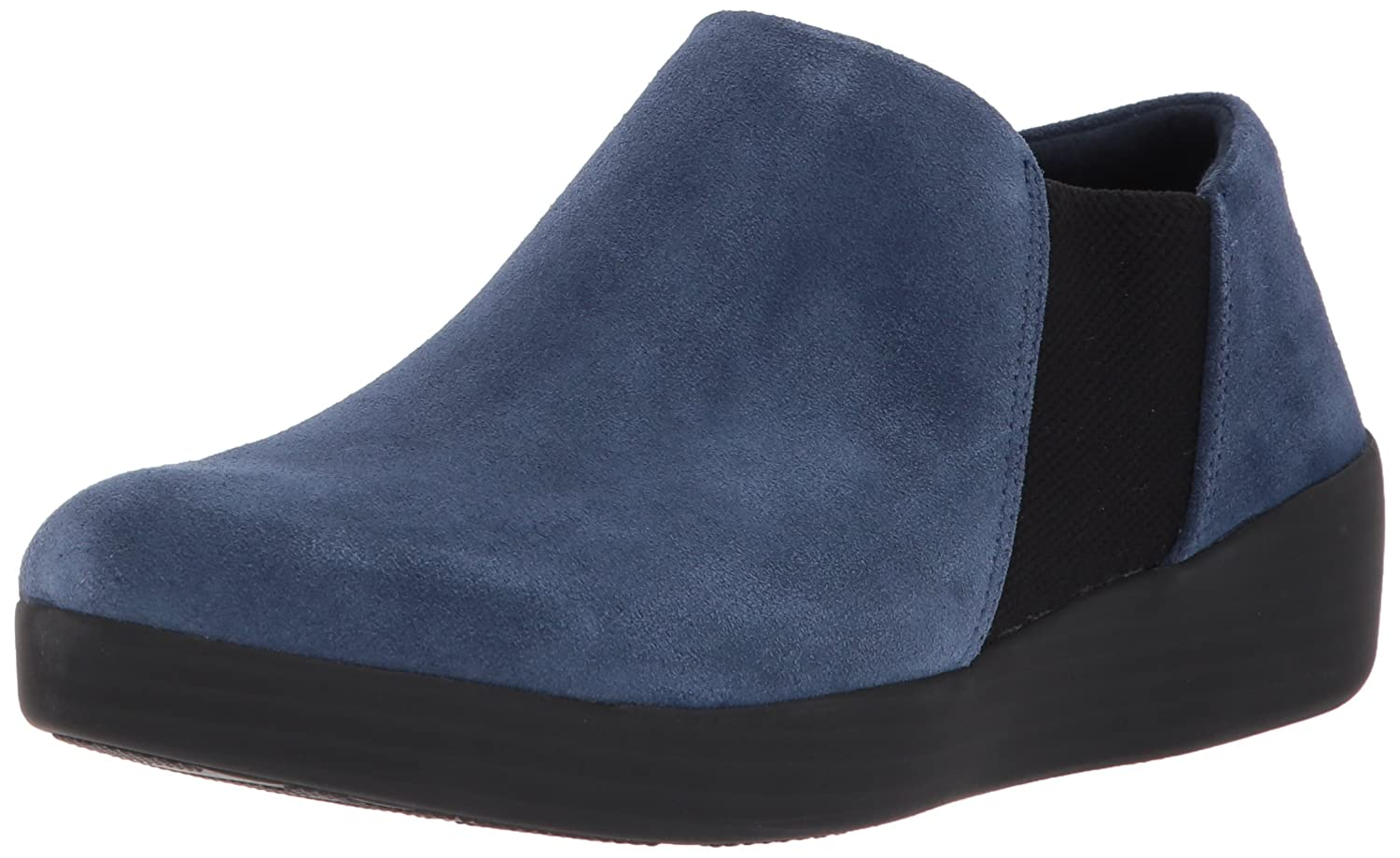FitFlop Women's Elastic Panel Shoe Bootie Ankle Boot B073ZHH9PT 7.5 B(M) US|Midnight Navy