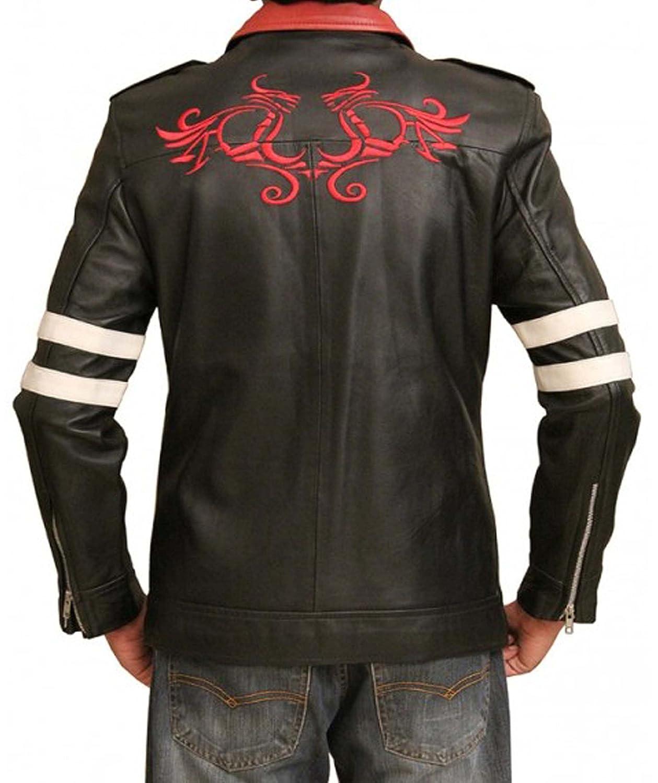 Prototype Alex Mercer Prototype 2 Cosplay Black Leather Jacket In All Size's