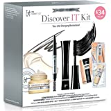 It Cosmetics Discover It 3 Piece Kit Including Confidence in a Cream, Superhero Mascara & Brow Power Brow Pencil