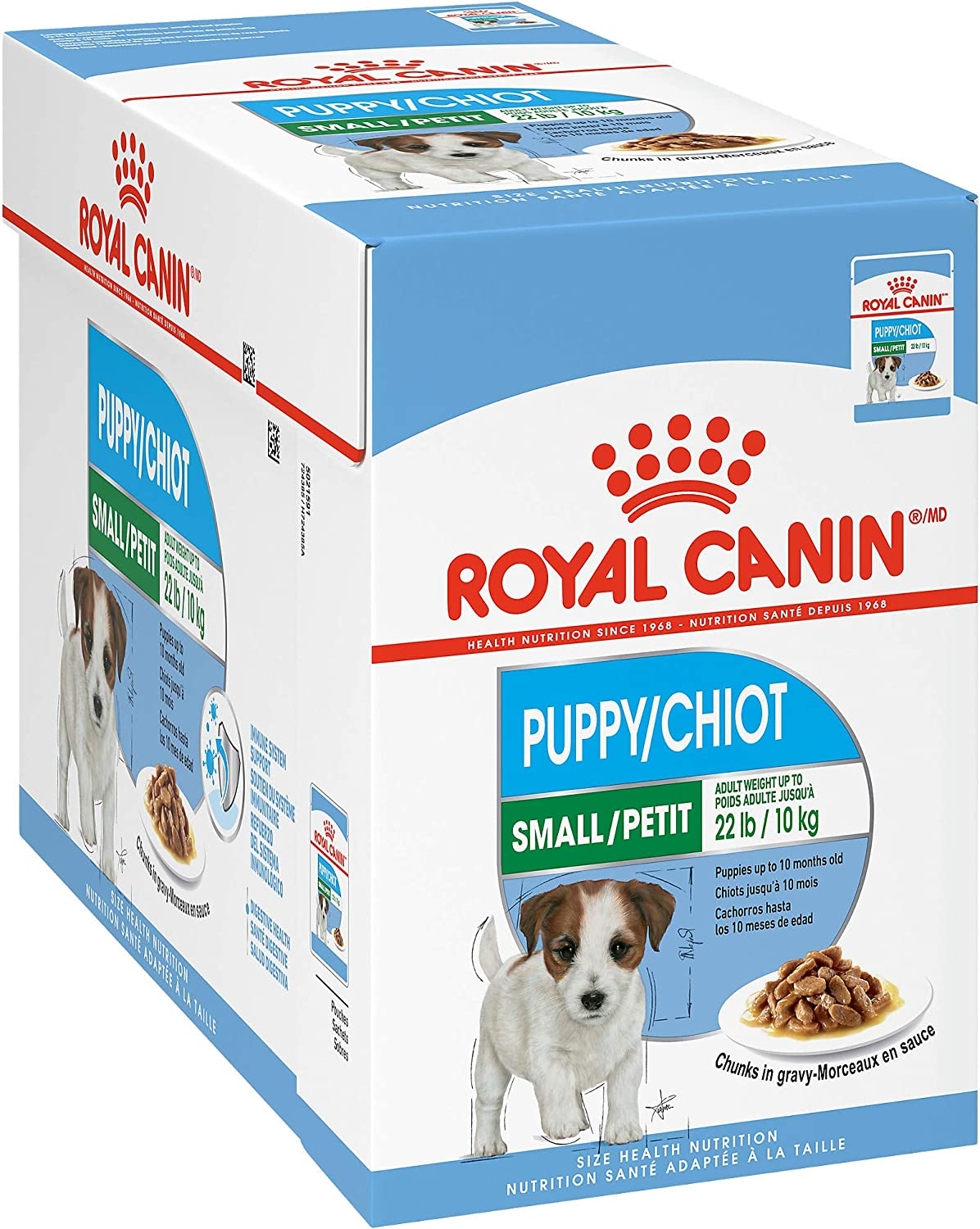 Royal Canin Small Breed Puppy Wet Dog Food, 3 ounce Pouch (Pack of 12)