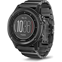 Garmin Fenix 3 HR Slate Gray GPS Watch With Stainless Steel Band