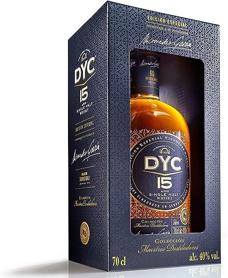Dyc Edición Especial 60 Aniversario Single Malt Whisky 40%, 700ml