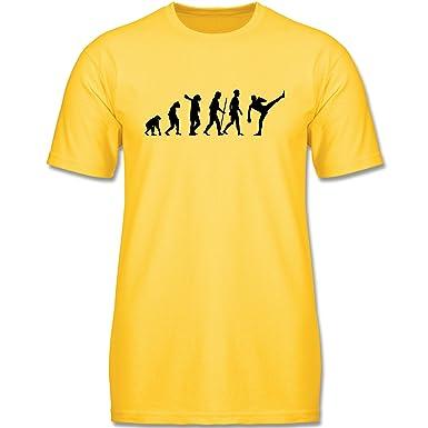 Evolution Kind - Kampfsport Evolution - 92 (1-2 Jahre) - Gelb -