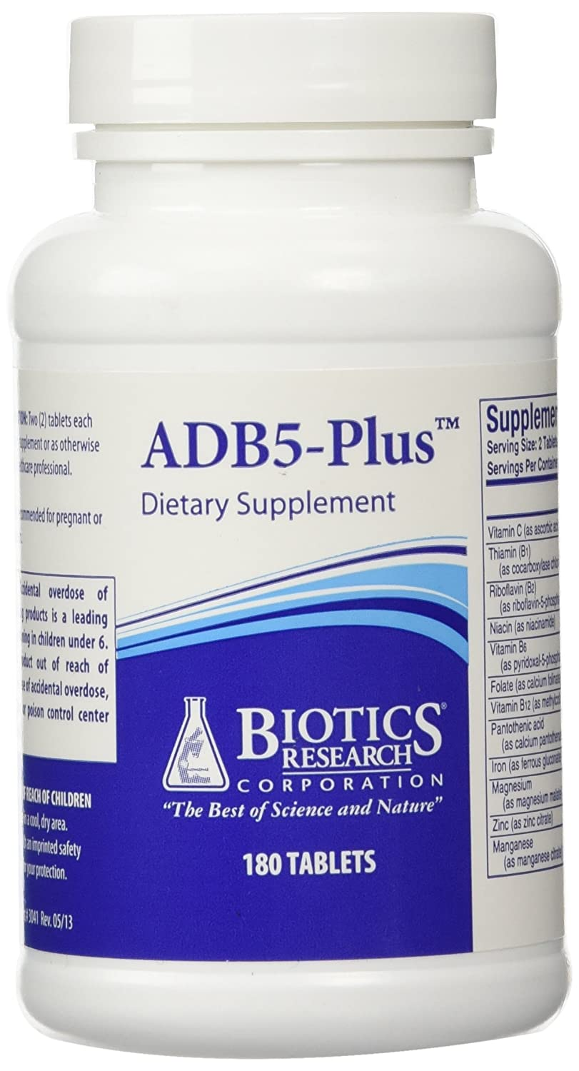 Amazon Com Biotics Research Adb5 Plus 180t New Health