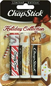 ChapStick Limited Edition Holiday Collection, 3 Sticks (Pack of 2)