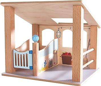 Puppenstuben & -häuser Pferdestall Puppe Haba 302168 Little Friends