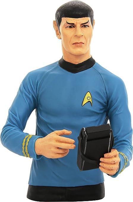 Eaglemoss Star Trek Collector/'s Busts #02 Multicolor Spock Polyresin Bust