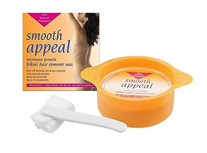 Smooth appeal - Cera para ingles, apta para microondas (125 ...