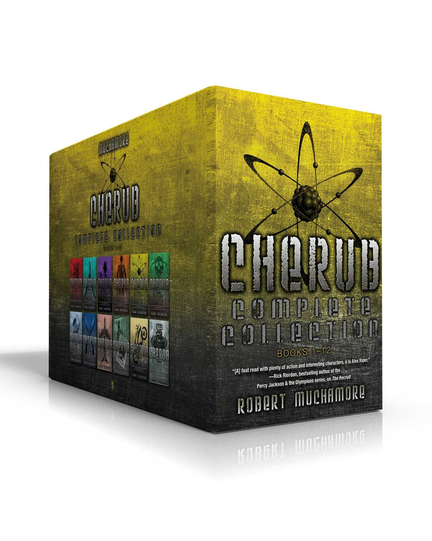 CHERUB Complete Collection Books 1-12: The Recruit; The Dealer; Maximum Security; The Killing; Divine Madness; Man vs. Beast; The Fall; Mad Dogs; The ... The General; Brigands M.C.; Shadow Wave by Simon Pulse