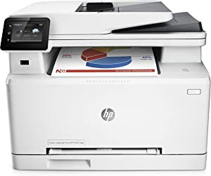 HP LaserJet Pro M277dw Wireless All-in-One Color Printer (Renewed)