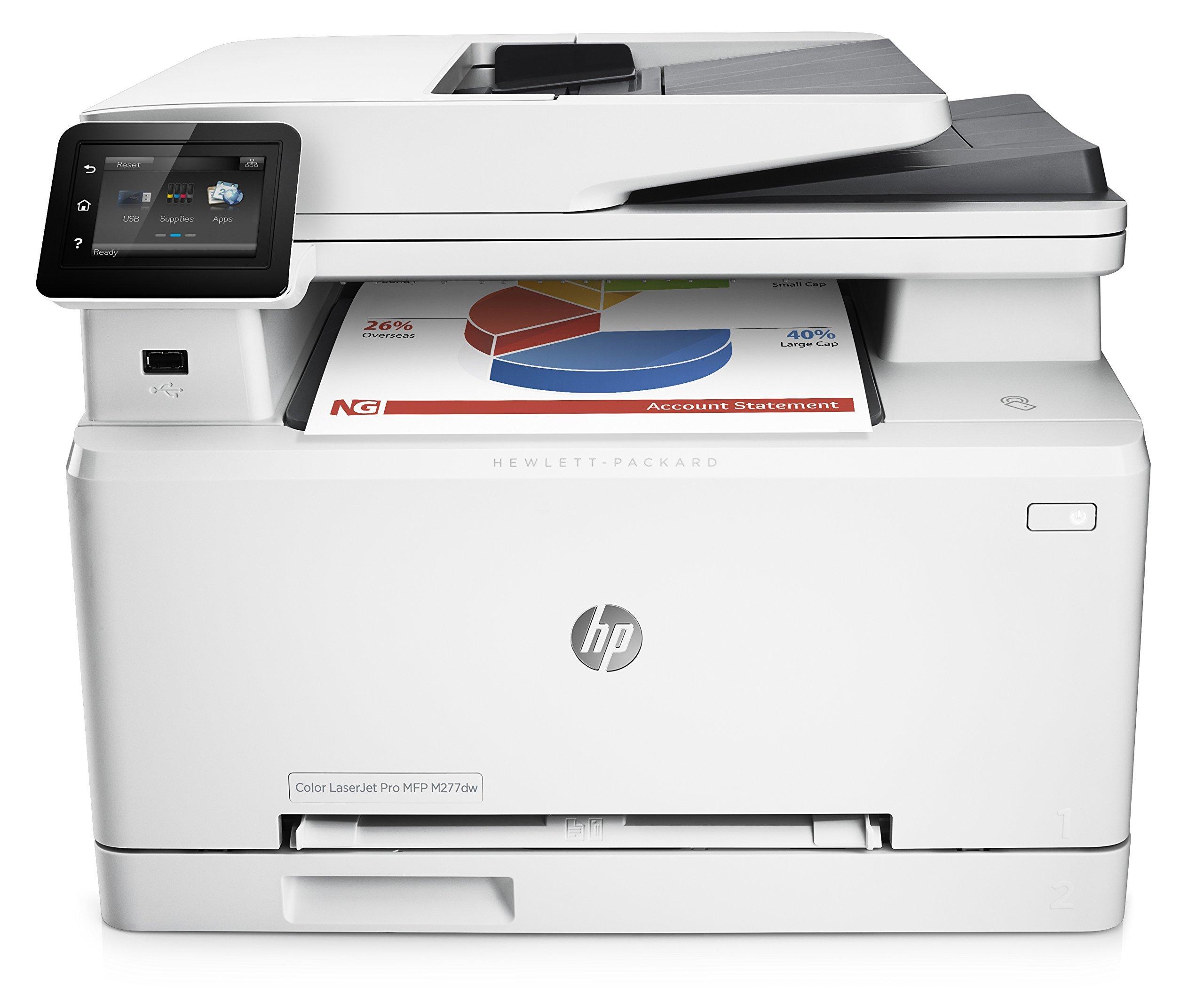HP LaserJet Pro M277dw Wireless All-in-One Color Printer (Certified Refurbished)