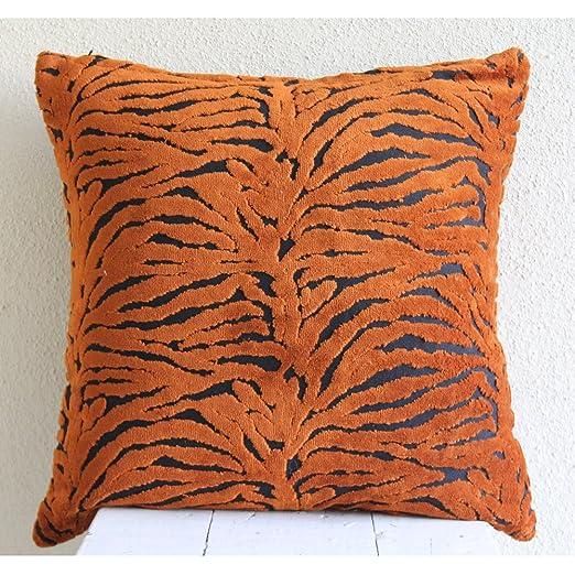 Tiger Stripes - Decorativa Funda de Cojin 30 x 30 cm, Square ...