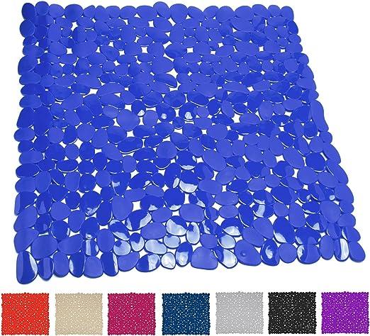 Blau Duscheinlage Duschmatte