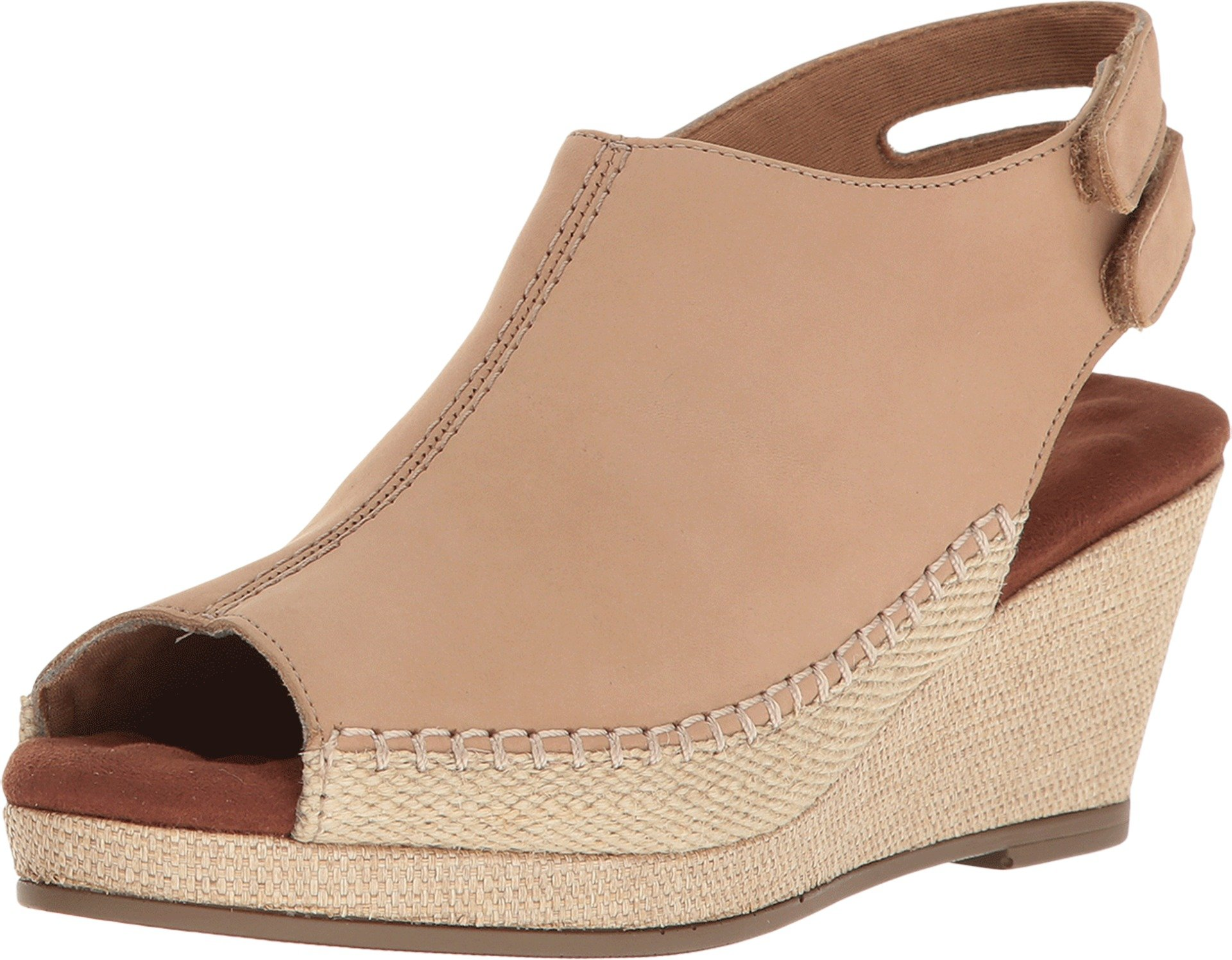 Walking Cradles Women's Anikka Milkshake Nubuck Wedge