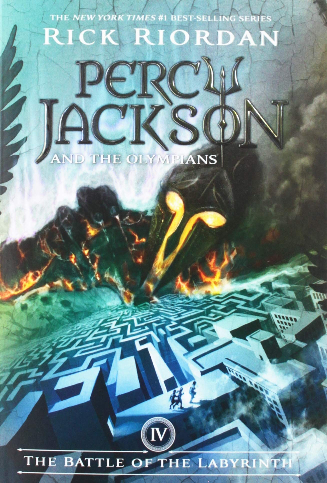 The Battle of the Labyrinth (Percy Jackson and the Olympians, Book ...